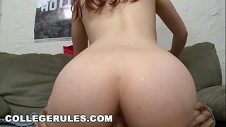 COLLEGE RULES - It'_s A Wild College Orgy, Featuring Asian Cowgirl Alina Li Riding Dick