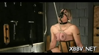 Teats punishment with woman in need for extra spicy bdsm