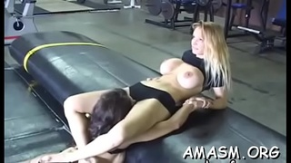 Busty wife awesome facesitting porn moments with hubby