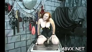 Loads of naughty amatur slavery porn with hot matures