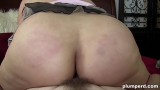Fat ass Filipina is thirsty for big cock in her pussy and mouth