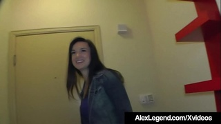 Hot Hairy Neighbor Paris Lincoln Fucked By Alex Legend!