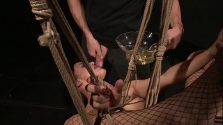 Gorgeous pissing-peeing pussys. Part 3.BDSM movie.Piss on sluts.