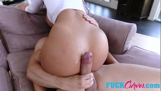 August Taylor In Thick Teen Gets The Dick Dream