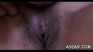 Perverted thai beauty enjoys riding a cock and getting agonorgasmos