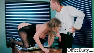 Sexy Busty Girl (Alexis Adams) Show In Office Her Sex Skills vid-01