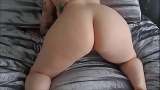 PAWG LIFE IN BED WITH HARMONY REIGNS BIG BOUNCY TITTS AND FAT TWERKING ASS
