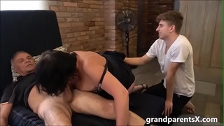 old-young,step-family,grandpa,milf,cum-on-ass,auntie,groupsex