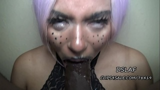 Potentially Dominican Lipz Giving Sloppy Head Without A Disguise- DSLAF