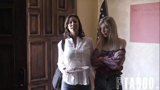 Kendra James, Alexis Fawx, Mackenzie Moss In Parent-teacher Trap