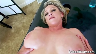 Insatiable MILF Has Massage Appointment - Dee Williams