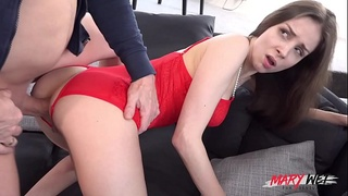 OMG! Huge cock blows Mary