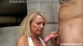 3 of the best hot matures outdoor fuck and suck