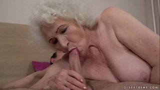 older-young,old,euro,saggy-tits,mature,grandma,old-woman