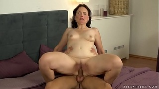 Hot mature woman and her younger friend