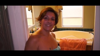 Mom Blackmailed By Her Sons Friend part 1