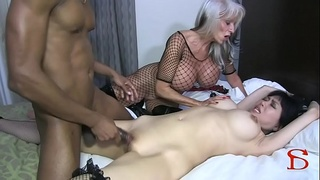 Tokyo Rose tied and fucked bondage BBC Sally D'angelo Rose Royal