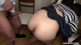 Blasting her wet pussy and she enjoys every single stroke of it