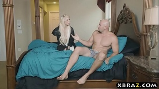 Teen stepsis gets even with her stepbro who filmed her
