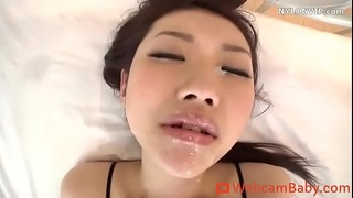 Japanese Horny Dancer in Stockings