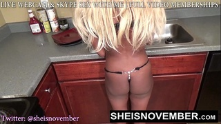 YOUNG DUMB BLONDE STEP SISTER TRICKED INTO GIVING UP BOOTY & PUSSY BY BROTHER 18
