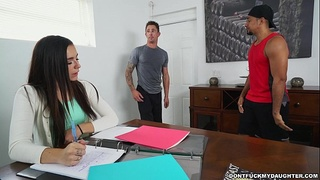 Hot Petite and Horny Young Teen Daughter