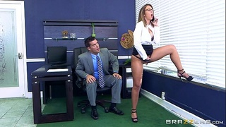 Brazzers - Layla London wants some office cock