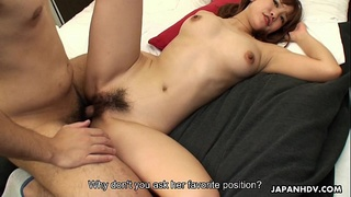Asian bubble butt babe getting doggy style fucked