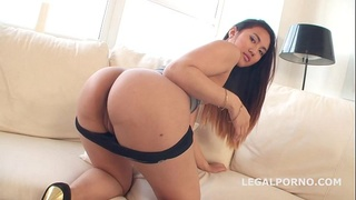 May Thai first time in Porn. Ball Deep ANAL&DP, GREAT DAP, gapes. 4 swallows. Pussy only for DP