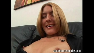 Hot girl gets creampie on her vacation