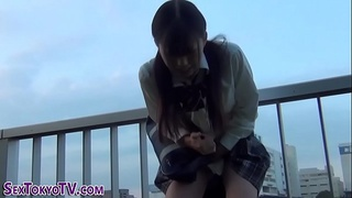 Japanese teeny squirting