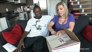 Sara Jay's Special Delivery for Black Cock