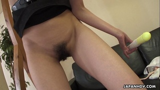 After her masturbation seance she pleases the Generals flag pole