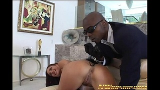 anal sex Venus interracial porn with big black cock