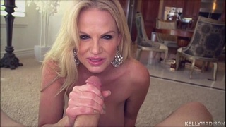 Super Titted MILF Kelly Madison Tit Fucks and Sucks Big Cock