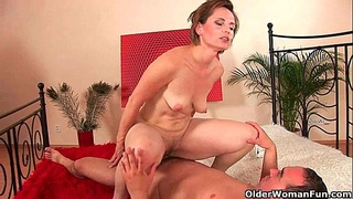 Mom will make you blow your load