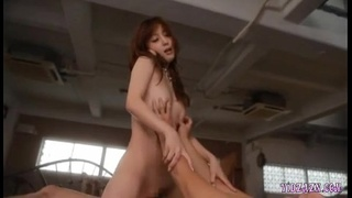 Asian Girl Getting Her Pussy Fucked And Fingered On The Bed In The Penthouse