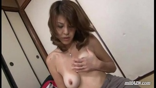 Milf In Skirt Found Porn Mag Masturbating Fingering Herself On The Floor In The
