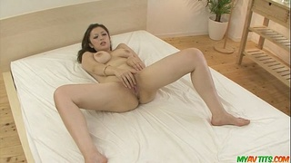 MILF Meisa Hanai gets a japanese creampie in a threesome