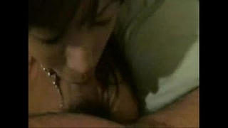 Homemade video of a young Japanese woman