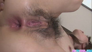 Hot amateur Hanai Kanon gets a mean creampie