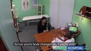 FakeHospital Young mum has her ass tongued by the doctor