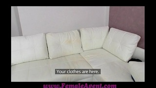 FemaleAgent Cum on my tits or leave my agency
