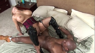Prince Delivers a Black Cock For Shyla Stylez