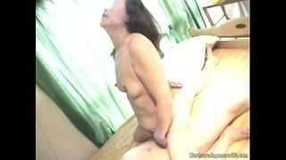 Hot Japanese MILF Gets Pounded Hard And Facialled