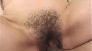 Mature milf gets pussy slammed in threeway with studs