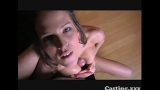 Casting Failed swimwear model in casting interview