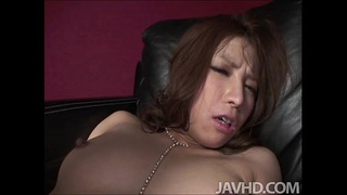 Tsubasa Aihara is tied up and given one of the wildest fucks on the planet by a