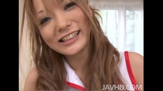 Cute Nurse Sena Aragaki gives her patient a total physical that leaves him blowi