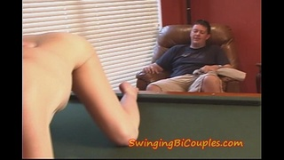 Cuckhold Hubby has to SWALLOW
